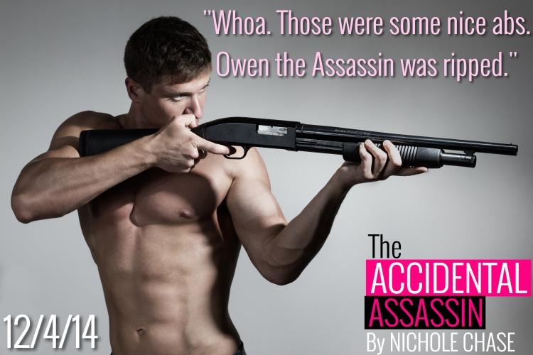 Young man aims a gun