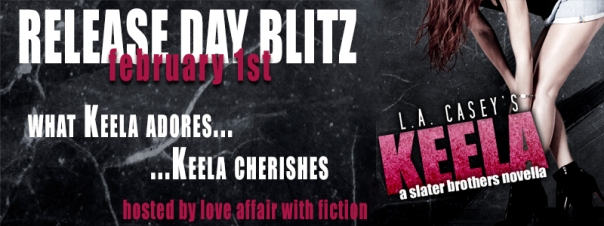 Release Day Bitz: Keela by L.A. Casey‏