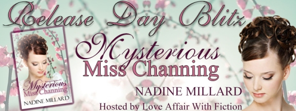Mysterious Miss Channing RDB Banner