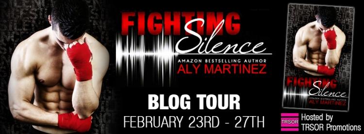fighting silence blog tour