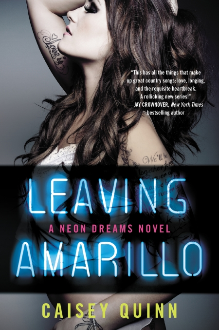 LEAVING AMARILLO cover art