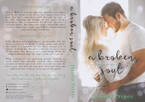 A Broken Soul by Jessica Prince — Full Wrap