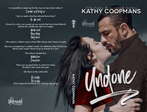 Undone by Kathy Coopmans paperback