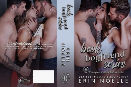 Book Boyfriend Series by Erin Noelle paperback