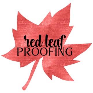 Alternate Logo — Red Leaf Proofing