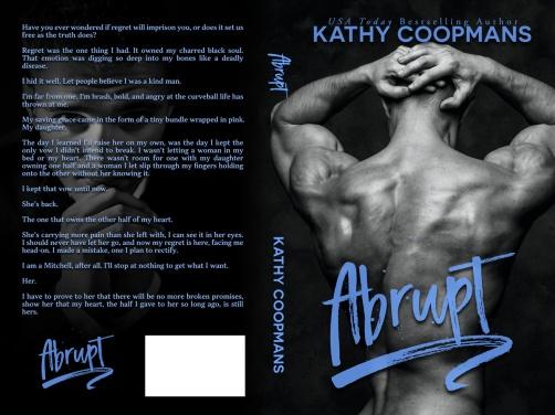 Abrupt by Kathy Coopmans paperback