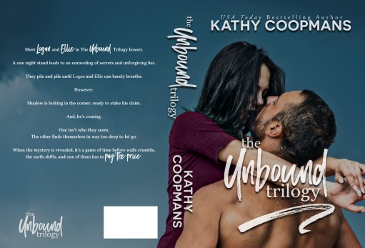 The Unbound Trilogy by Kathy Coopmans paperback