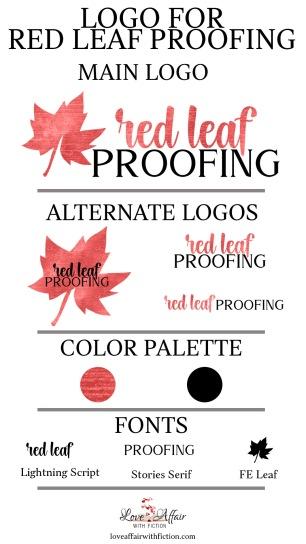 Branding Board —Red Leaf Proofing