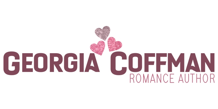 Georgia Coffman Romance Author Alternate 2 Logo Glitter For Web