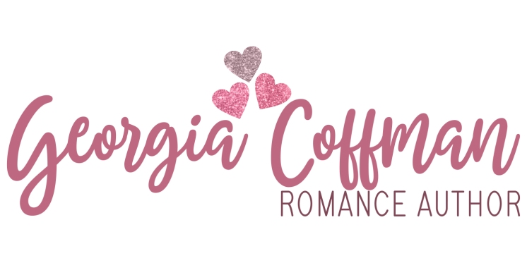 Georgia Coffman Romance Author Alternate Logo Glitter For Web