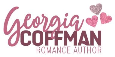 Georgia Coffman Romance Author Main Logo Glitter For Web