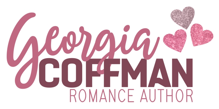 Georgia Coffman Romance Author Main Logo Glitter For Web