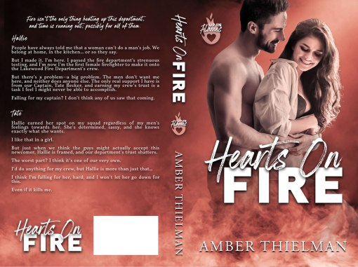 Hearts on Fire by Amber Thielman paperback