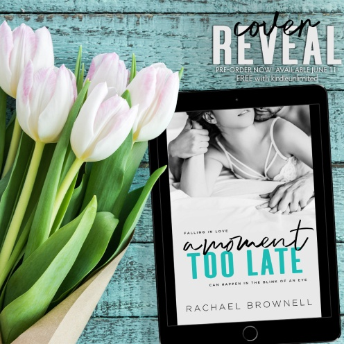 A Moment Too Late Cover Reveal